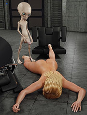 Hardcore sex with kinky alien / Alien Attack / CGI porn