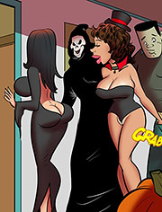 I love more than one cock / Saving halloween / Dirty comics