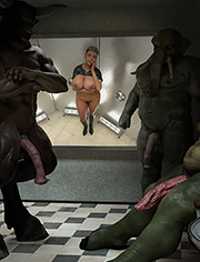 Huge monster cocks / Diana, Glory Hole Slut