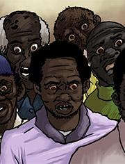 I love the taste of your dirty black balls / Slut for ugly black men / Illustrated interracial