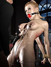 3D babes scream in pain and pleasure / Long Layover series (xxx) / Part 7 / 3DErotic