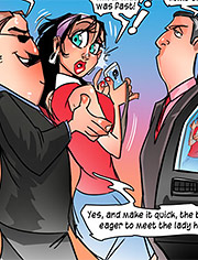 I'm gonna stick my huge attribute right up your hole / Jenny needs a job / Tease Comix