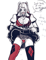 Big fat cock / Harley Quinn superslut / page 1-29