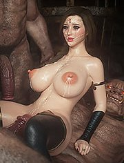 Her breast seemed to be erect / Fallen lady / part 2 / Jared999d