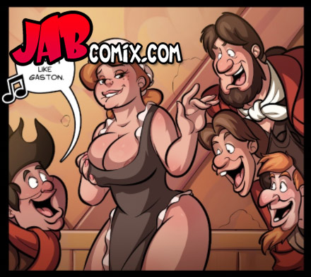 I'm especially good at ejaculating - Boobies and the Beast by jab comix