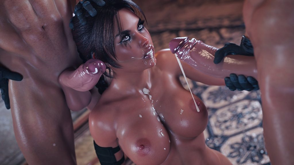 She uses all of her holes strategically to ensure that she reaches her objective - Lara and the jade skull by Forged3DX