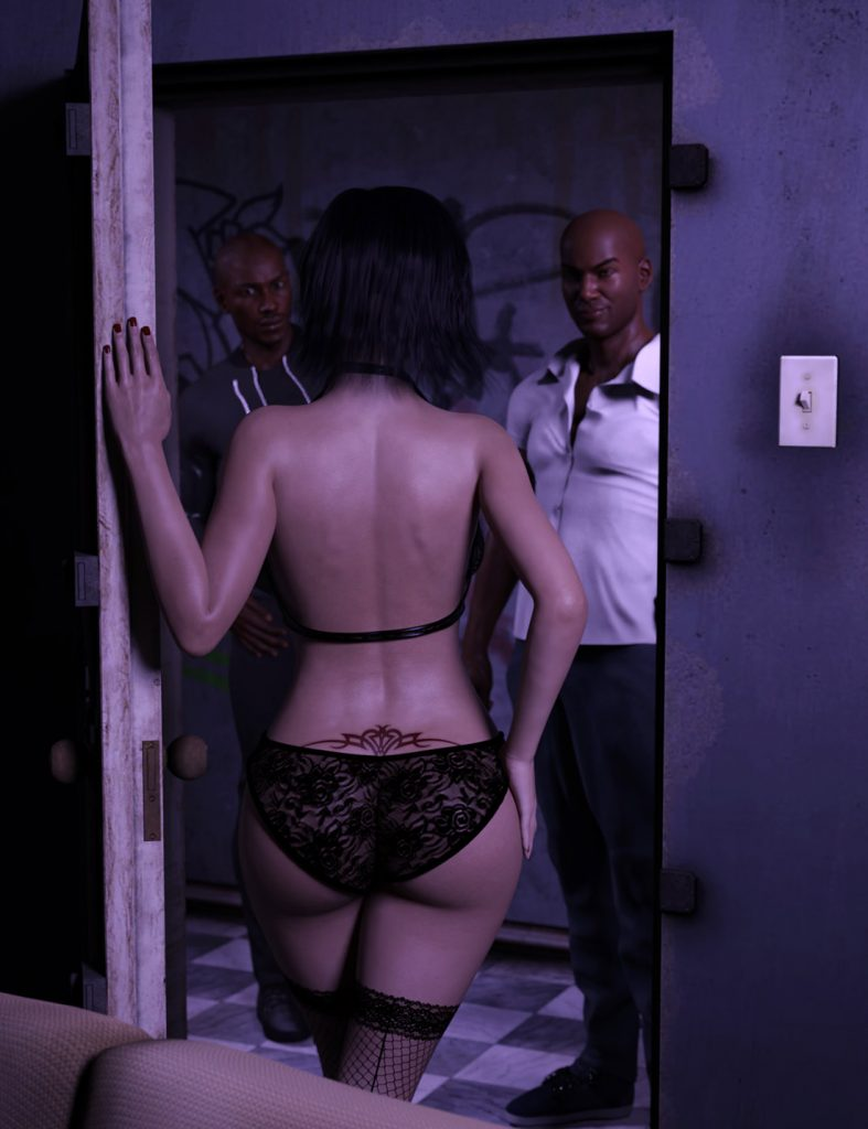 Housewife rides massive dicks and gets gangbanged - Meeting Lexy by SneakyBastard