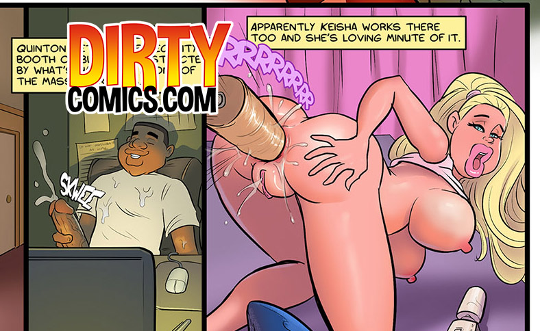 She promises she'll do any sexual favors he asks for - Hot for Ms. Cross by dirty comics