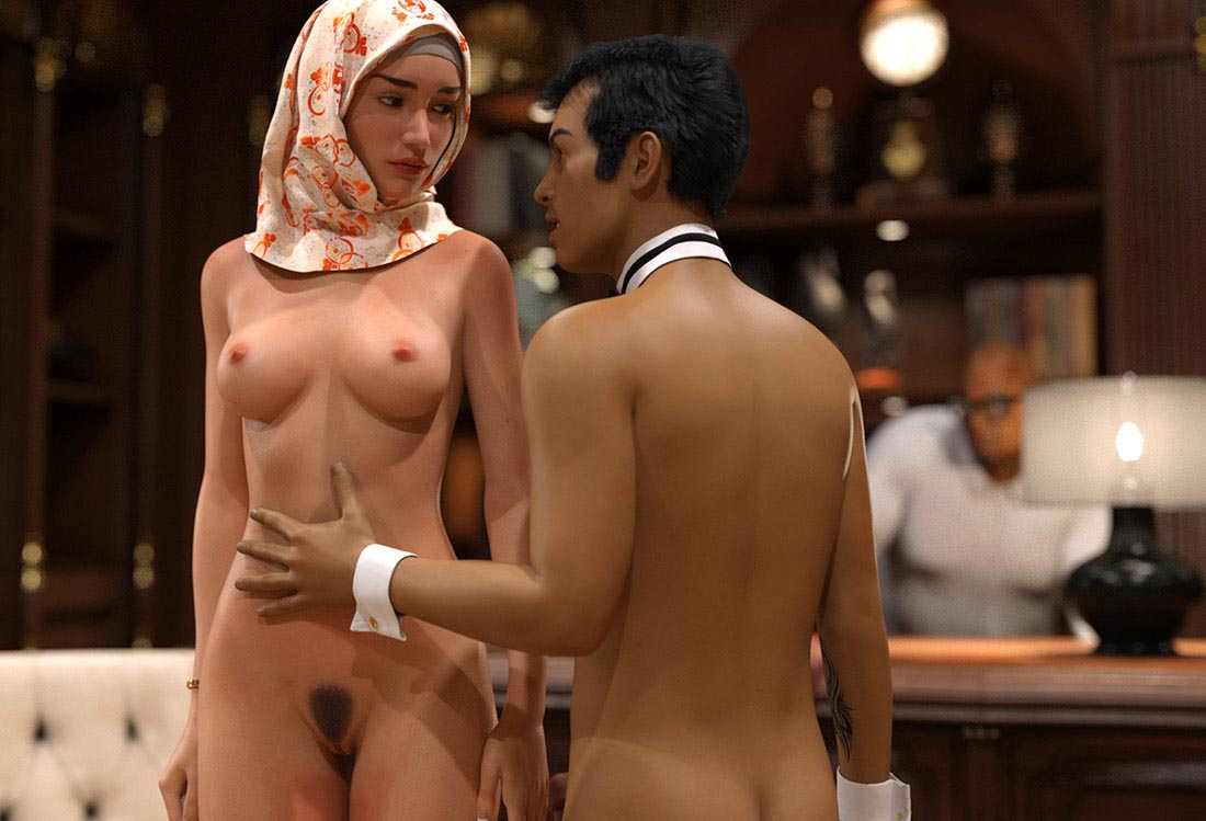 Wedding ring in exchange for sex - Sound Garden 3 by Losekontrol (Hijab 3DX)